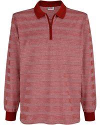 Roger Kent Poloshirt - Rood
