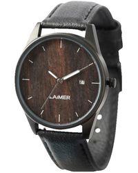 Laimer Horloge - Zwart