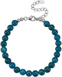 Diemer Farbstein Armband - Blauw
