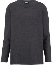 Men Plus Sweatshirt - Grijs