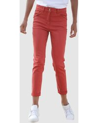 Dress In Jeans - Rood
