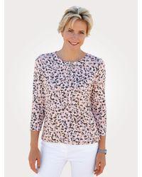 Rabe Shirt Rosé::Grau - Mehrfarbig