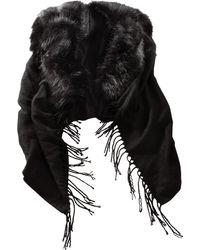 Alba Moda Poncho - Zwart