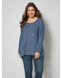 Sara Lindholm Shirt - Blauw