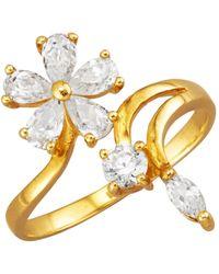 Golden Style Damesring - Wit