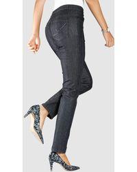 m. collection Jeans - Zwart