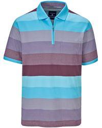 Babista Poloshirt Lila::turquoise - Blauw