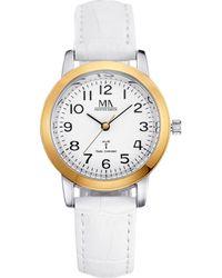 Meister Anker Radiografisch Horloge - Wit