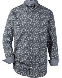 Babista - Hemd Blau::Weiß - Lyst