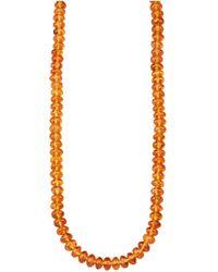 Diemer Farbstein Ketting - Oranje