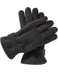 Babista Handschoenen Grijs Gemêleerd - Zwart
