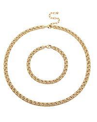Golden Style 2-delige Sieradenset - Geel