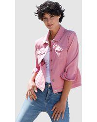 Dress In Spijkerjasje - Roze