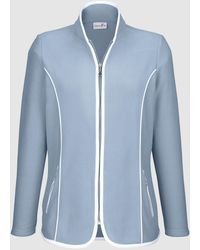 Dress In Fleece Vest - Paars