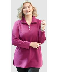 m. collection Sweatshirt - Paars
