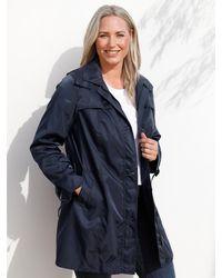 MIAMODA Trenchcoat - Blauw