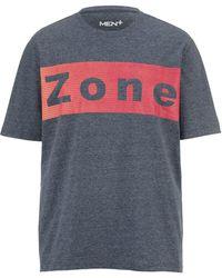 Men Plus T-shirt - Oranje