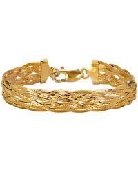 Golden Style Visgraatarmband - Metallic