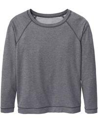 CALIDA - Sweat-Shirt, Raglanärmel urban grey melé - Lyst