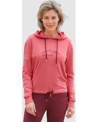 Dress In Sweatshirt - Roze