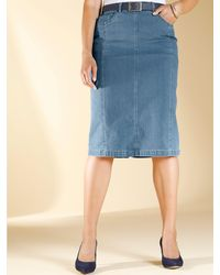 m. collection Rok Blue Bleached - Blauw