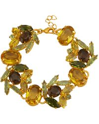 Golden Style Armband - Geel