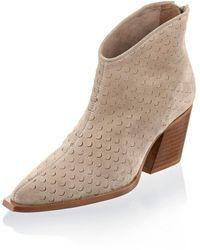Alba Moda Ankle Boot - Naturel