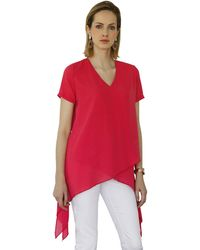 Amy Vermont Blouse - Rood