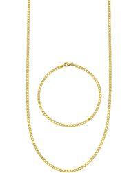 Diemer Gold 2-delige Sieradenset - Metallic
