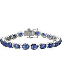 KLiNGEL Armband Met Saffier - Blauw