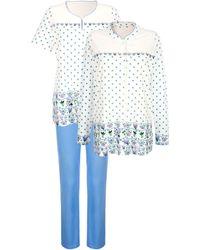 Harmony 3-delige Pyjama - Blauw