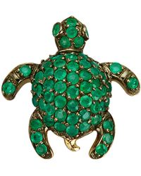 Diemer Farbstein Hanger Schildpad - Groen