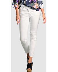 Alba Moda Jeans - Wit