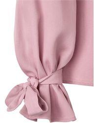 Sienna - Bluse Rosé - Lyst