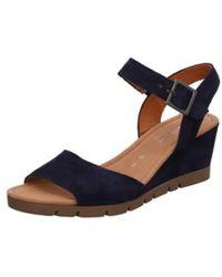 Gabor Sandalen/Sandaletten - Blau