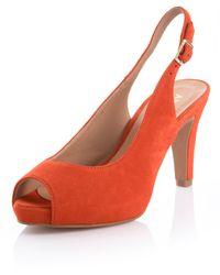 Alba Moda Sandaaltje - Oranje