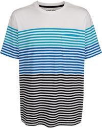Roger Kent T-shirt - Blauw