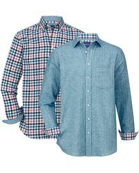 Babista Overhemden Per 2 Stuks - Blauw