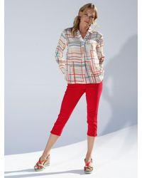 Amy Vermont Capri-jeans - Rood