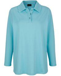 m. collection Sweatshirt - Blauw