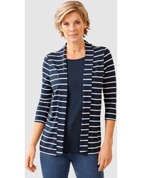 Paola 2-in-1-shirt - Blauw