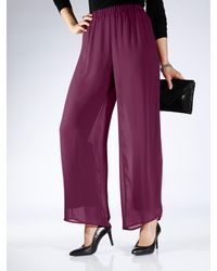 m. collection - Chiffonhose - Lyst