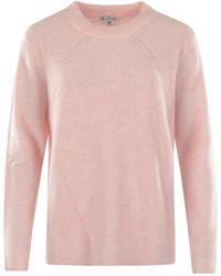 Hajo Pullover Flauschgarn - Pink