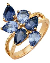 KLiNGEL Damenring - Blau