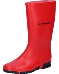 Dunlop Regenstiefel Sport - Rot