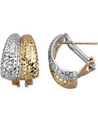 Diemer Gold Oorclip-oorstekers - Metallic