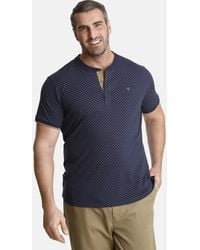 Charles Colby T-Shirt DUKE COLIN - Blau