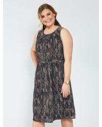 Sara Lindholm Maxi-jurk - Meerkleurig