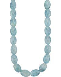 KLiNGEL Halskette aus Aquamarinen - Blau