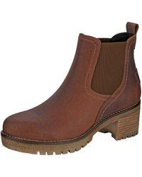 Filipe Shoes Chelsea Boot - Bruin